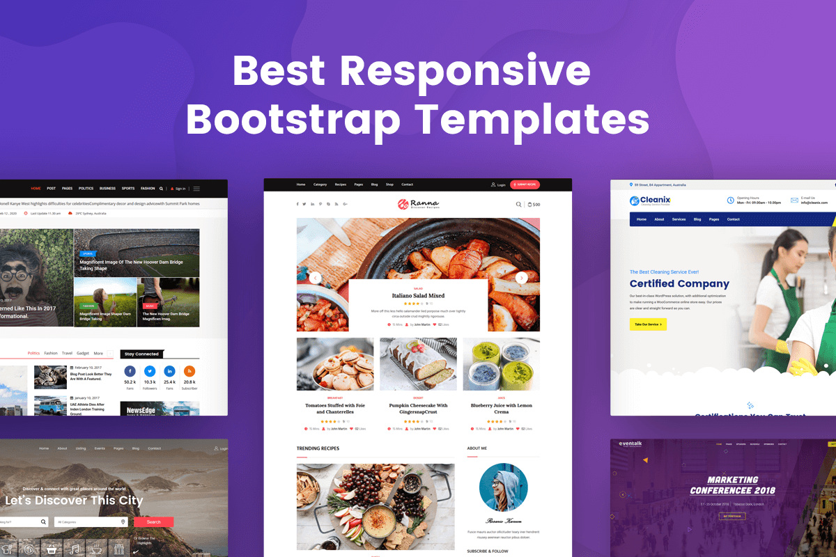 best responsive bootstrap template