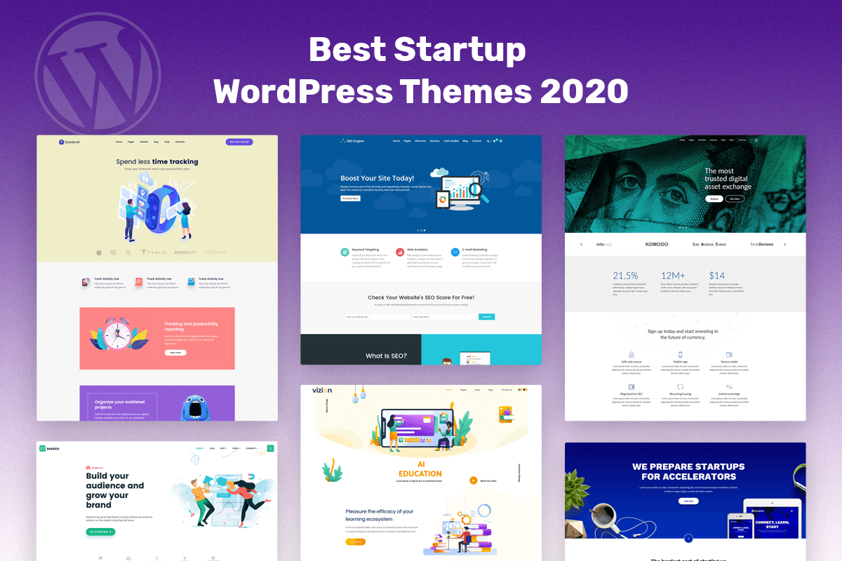 best startup WordPress theme