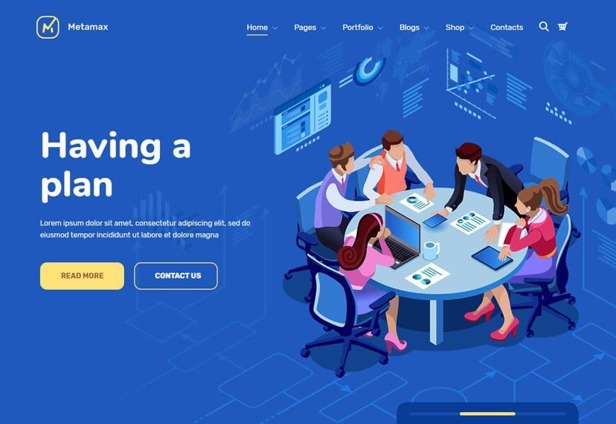wordpress theme for digital marketing agency