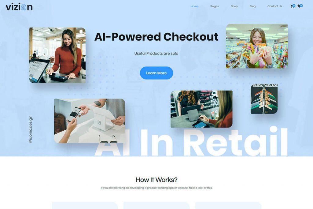 AI Powered WordPress Theme