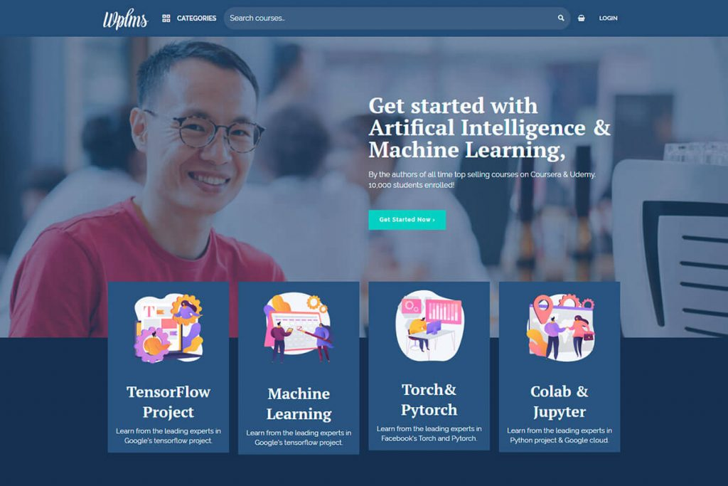 Learning Management System LMS Theme