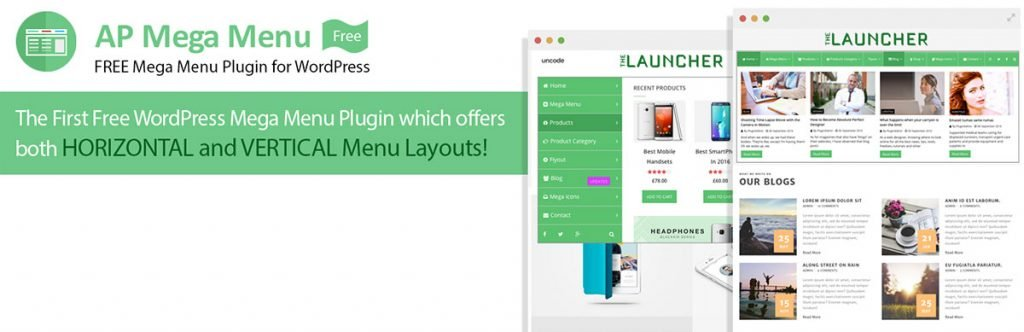 Free Menu Menu plugin for WordPress