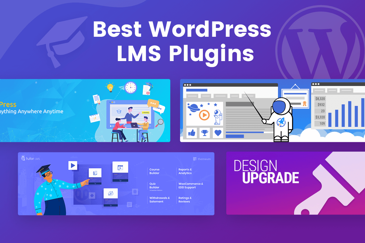 Best WordPress LMS plugin