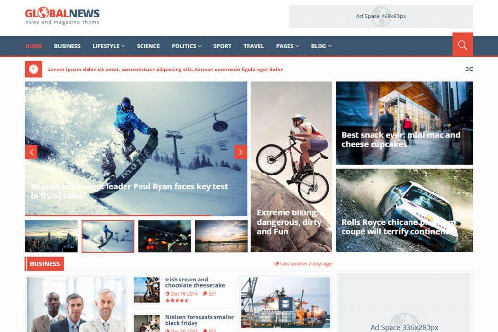 Best Blog HTML Template