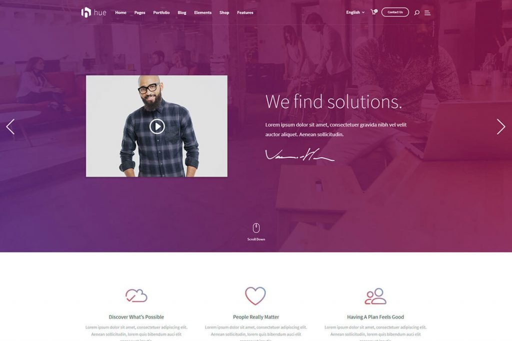 digital business WordPress theme