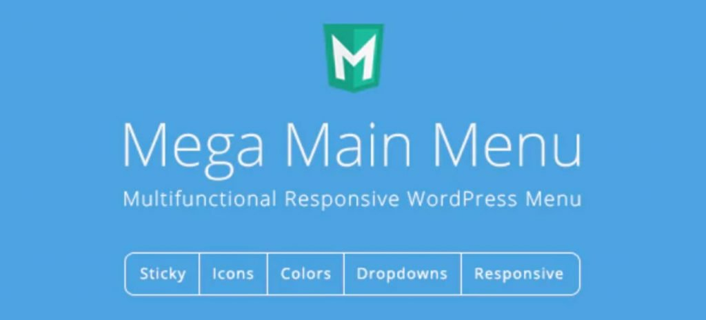 mega menu for WordPress