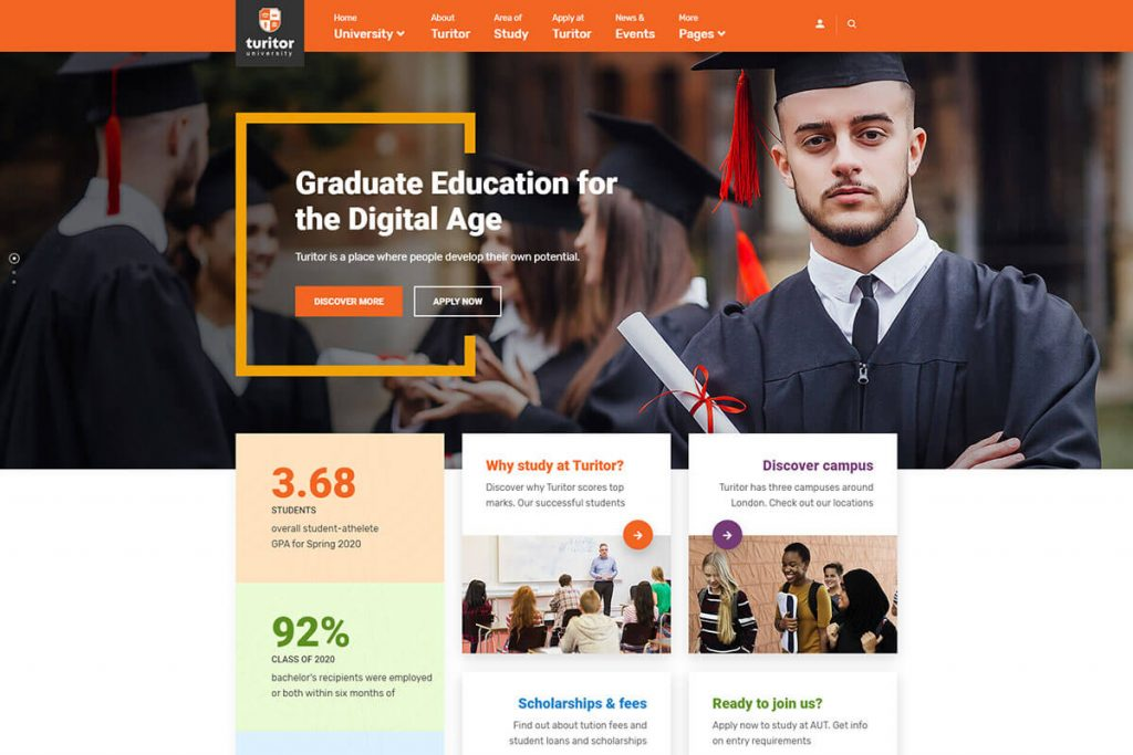 online education wordpress theme
