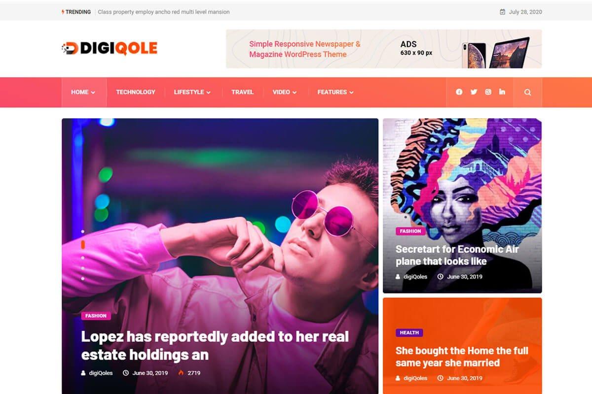 Best news WordPress theme