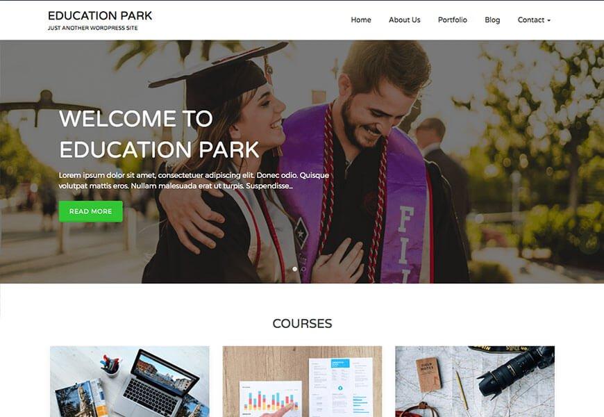 best free education WordPress theme