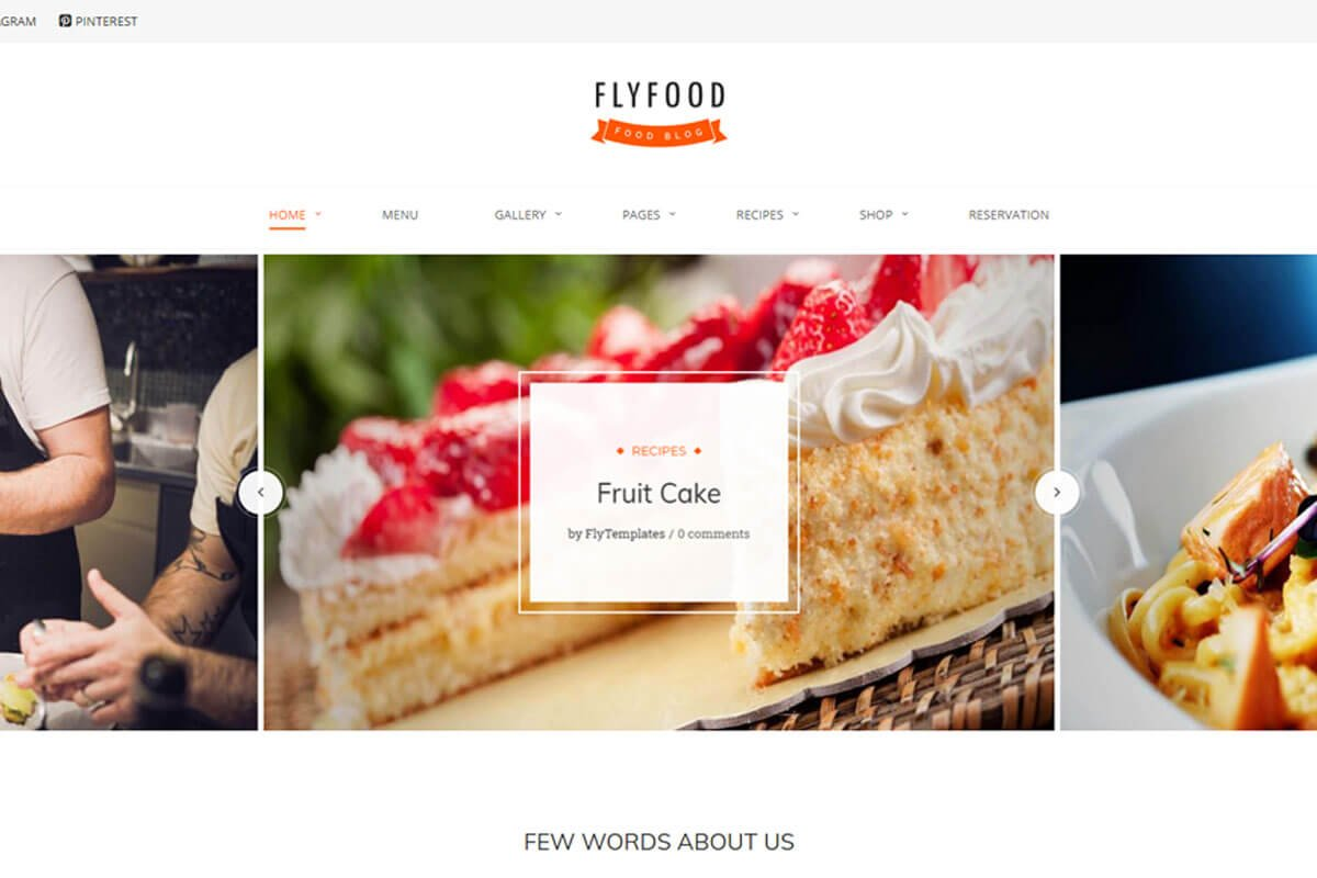 best recipes WordPress theme
