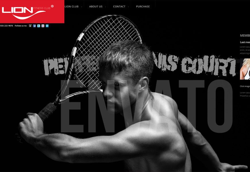 best fitness website templates for making fitness website
