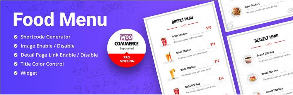 Best WordPress Restaurant Menu Plugin