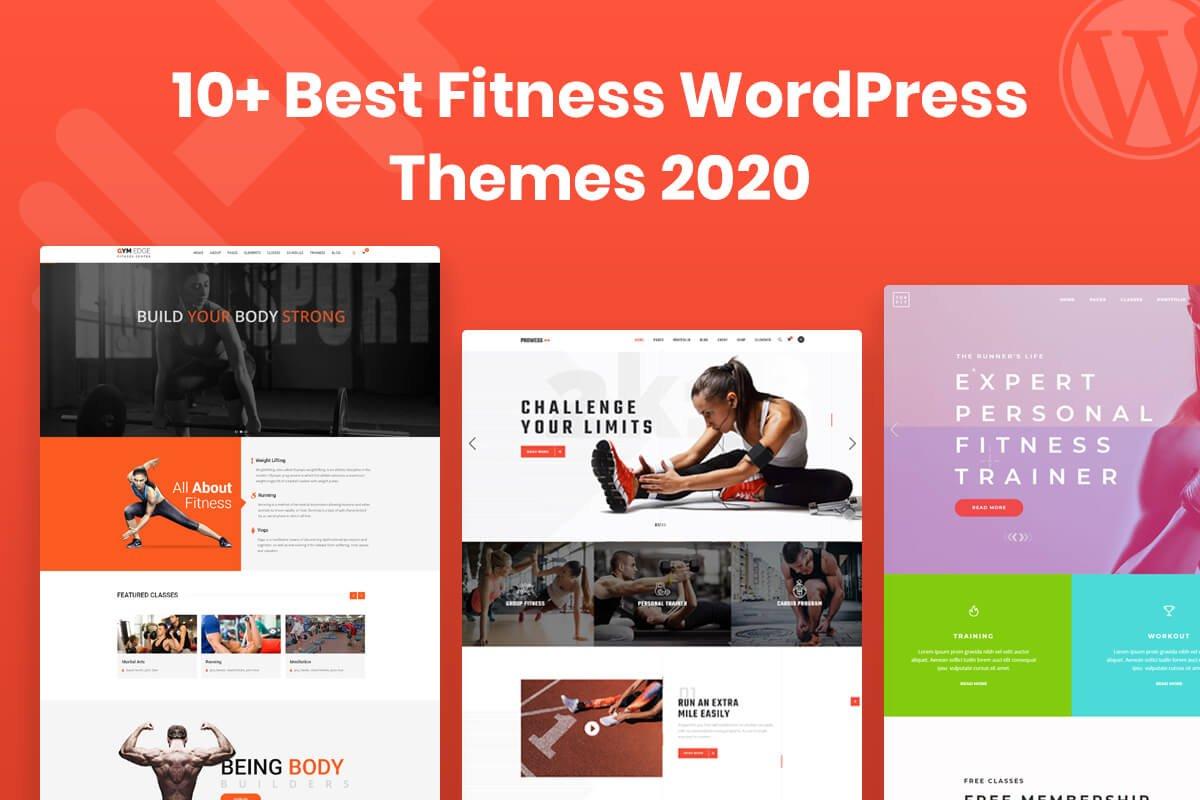 best fitness wordpress themes to make fitness website