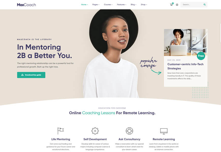 wordpress theme for education consultancy