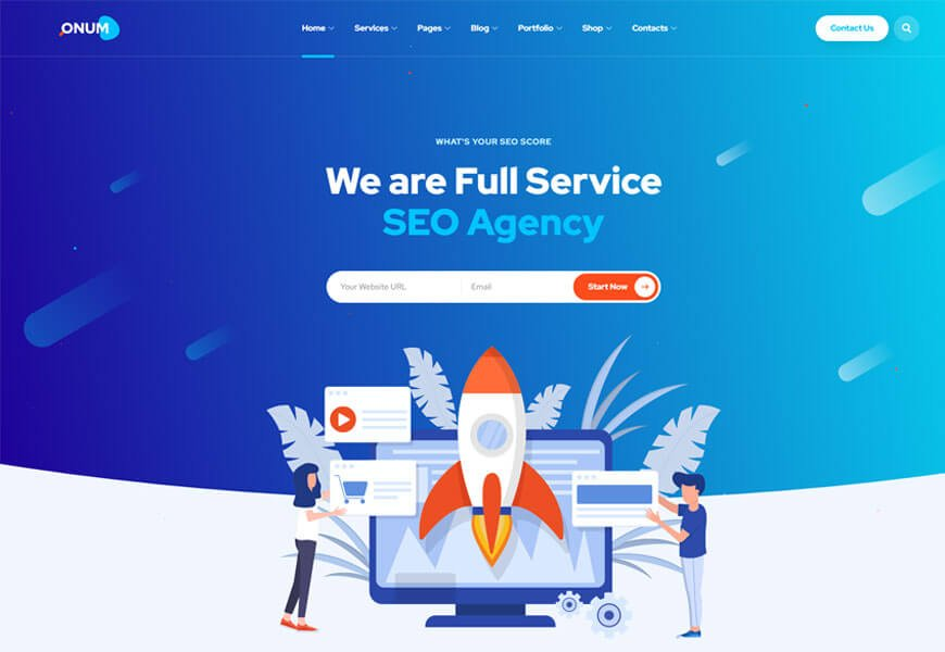 digital marketing WordPress themes