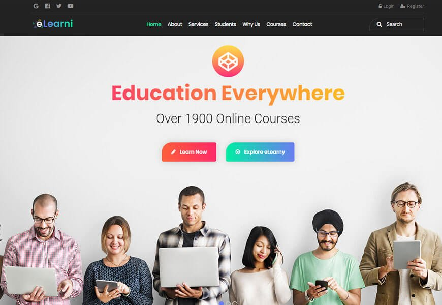 best wordpress theme for educational institutions