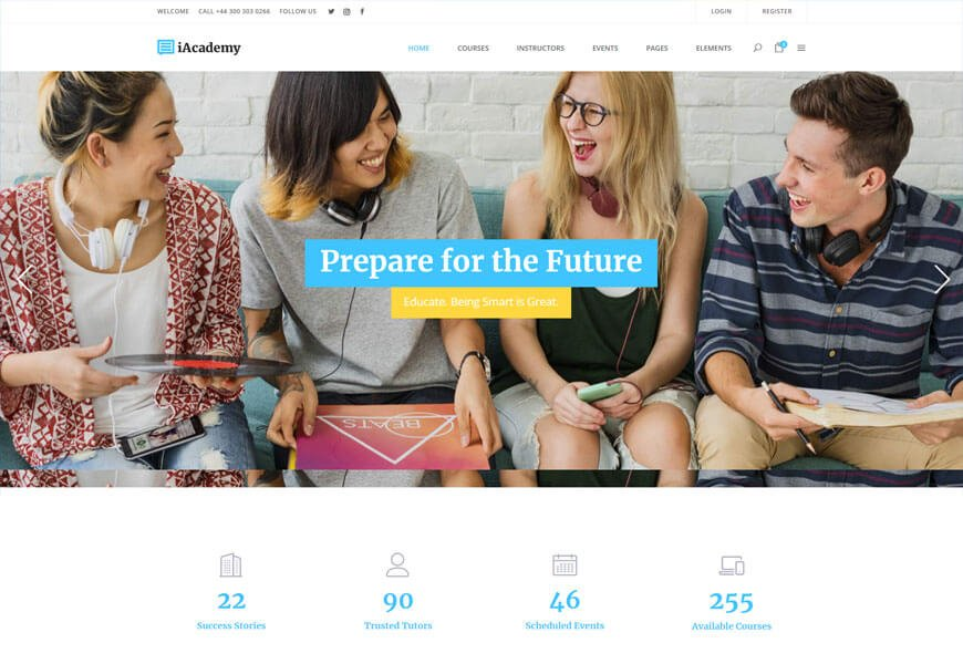 wordpress education theme free