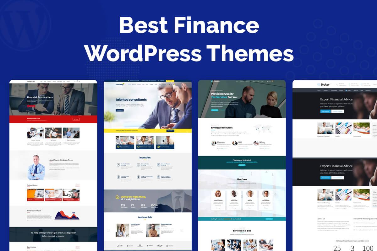 best wordpress themes for financial advisors