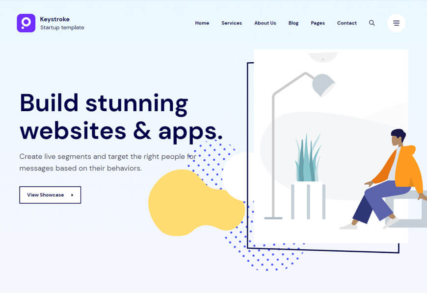 best technology website templates for web design agency