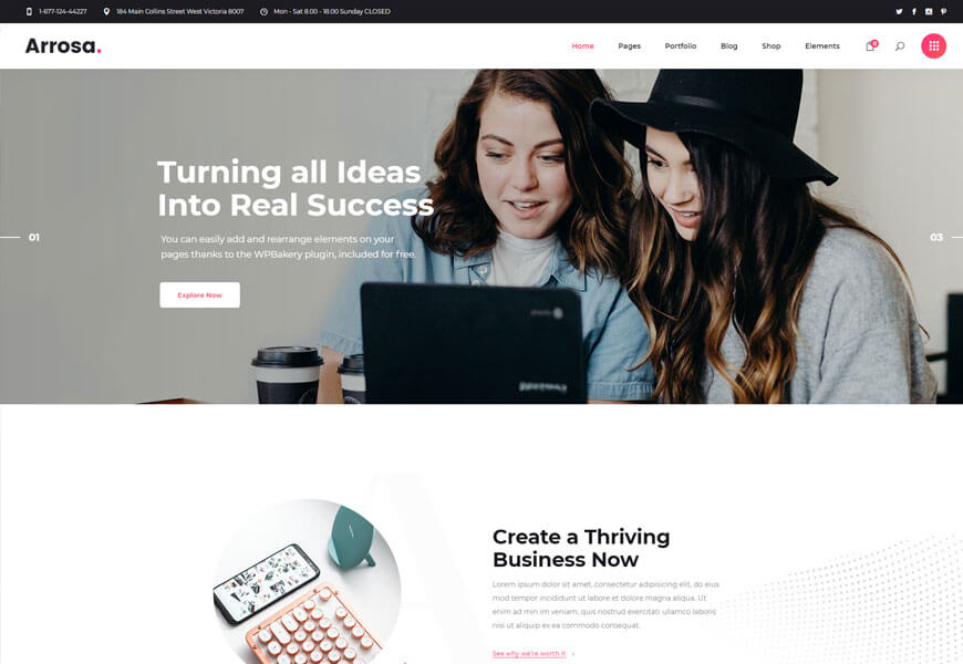 best startup wordpress themes for startup company