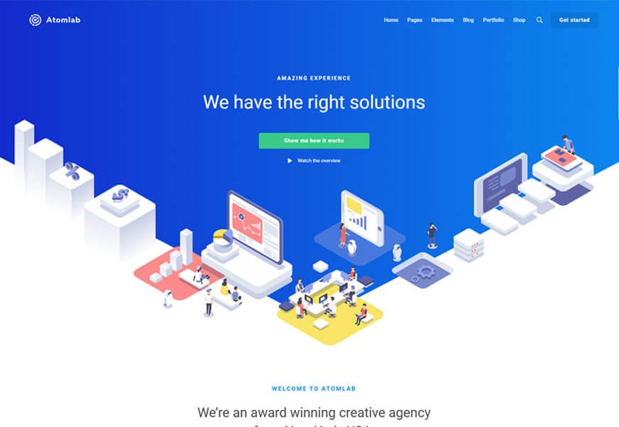 startup theme for startup business
