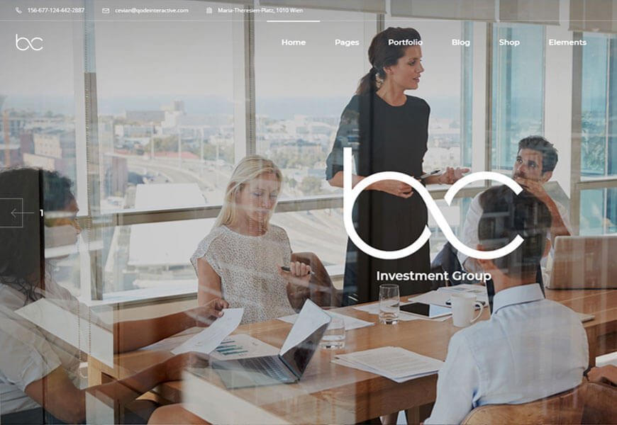 Cevian best startup wordpress themes for digital startup