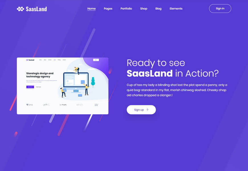 best software company website templates