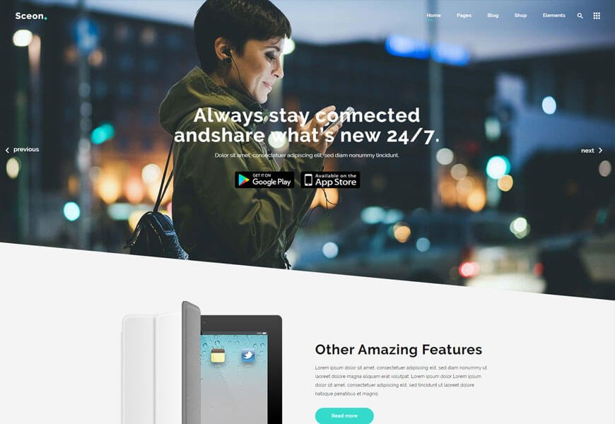 startup agency WordPress theme for seo agency