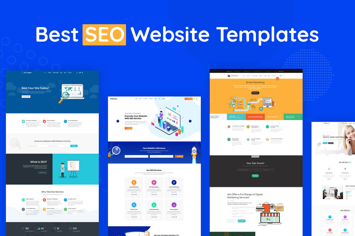 15+ Best SEO Website Templates 2020 - RadiusTheme