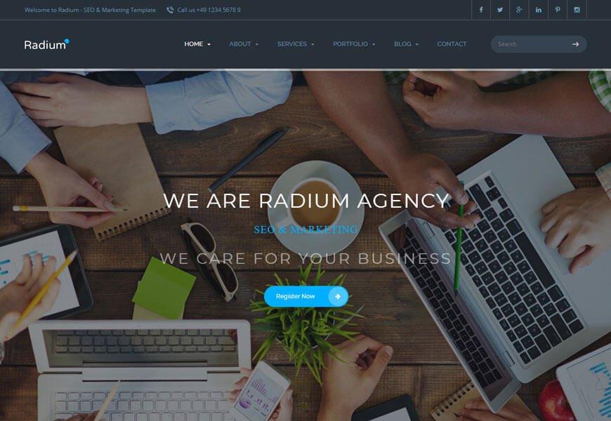 seo firm website templates