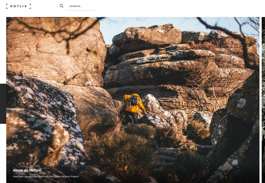 photography website templates bootstrap