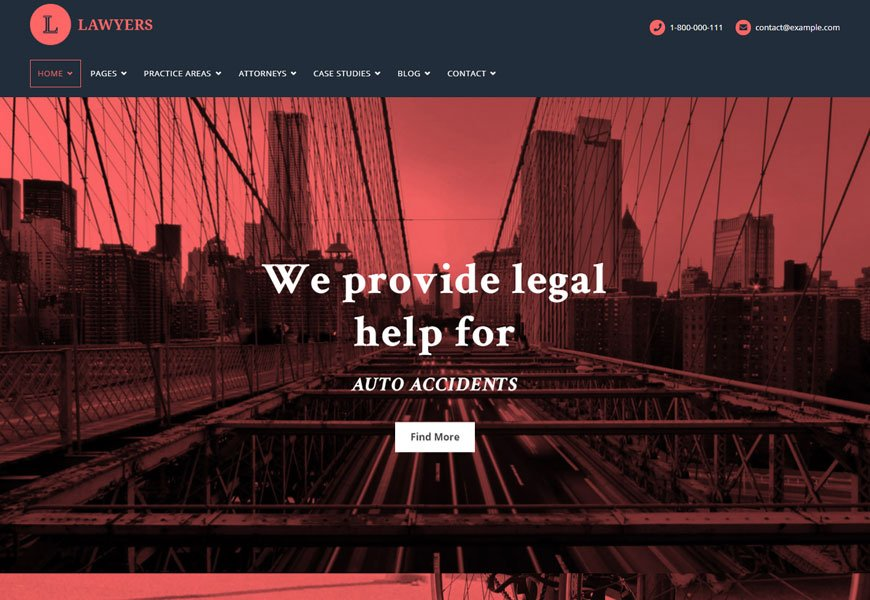 lawyers website templates