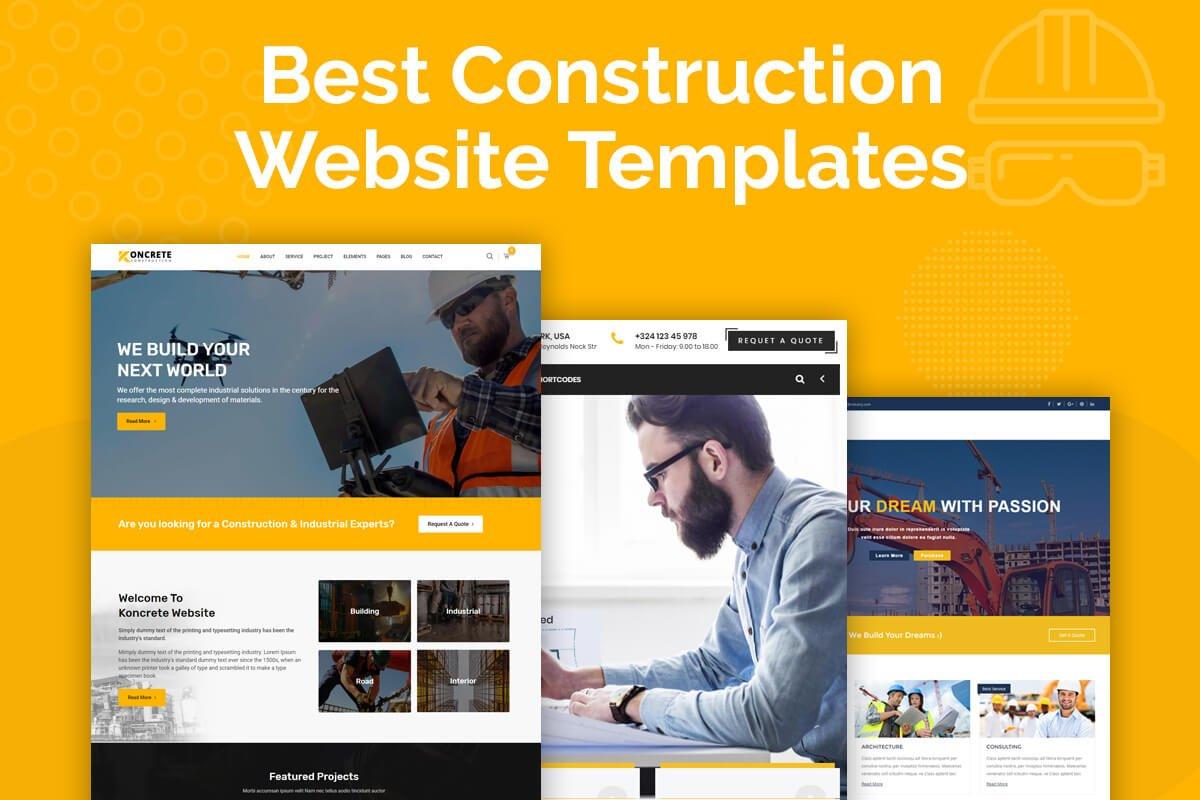 Best construction company WordPress theme