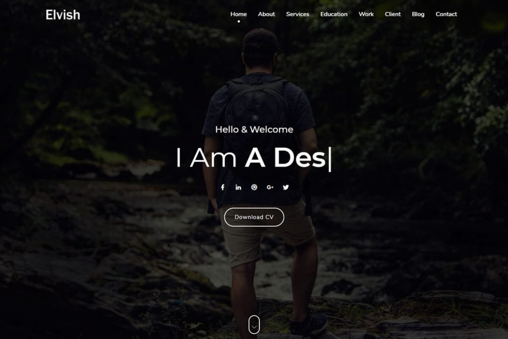 best portfolio website templates for portfolio web design