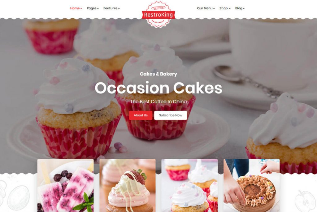 pizza delivery website template