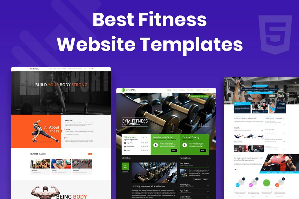 Best Fitness Website Templates