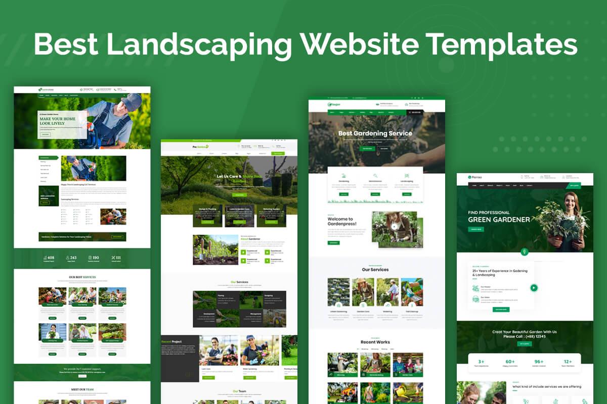 Best Landscaping Website Template