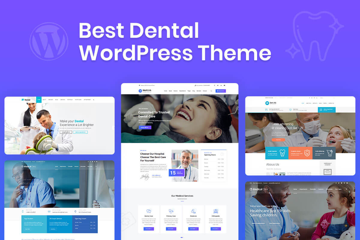 Best Dental WordPress Theme