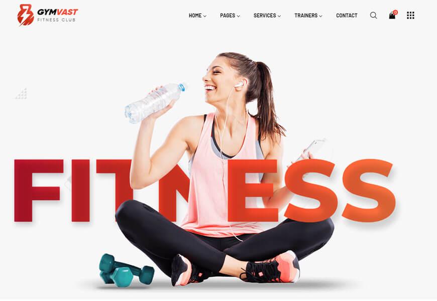 Gemvast is a gem of a gym website template