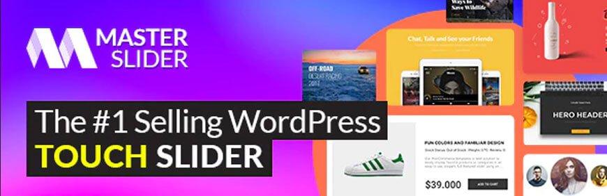Master slider is another best WordPress slider plugin