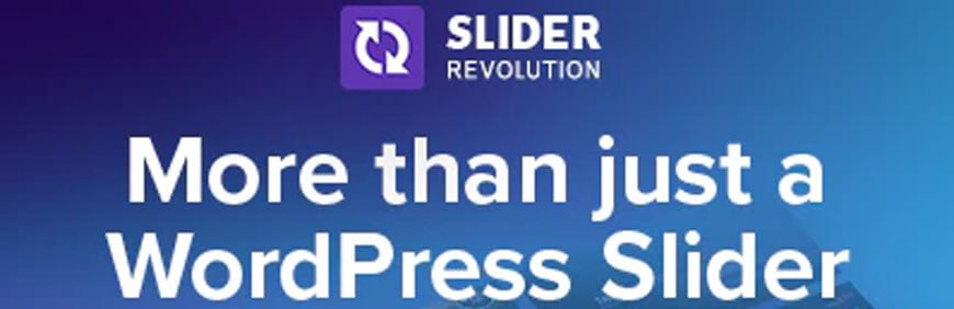 Slider Revolution is the best WordPress slider plugins