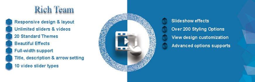 wordpress video slider plugins