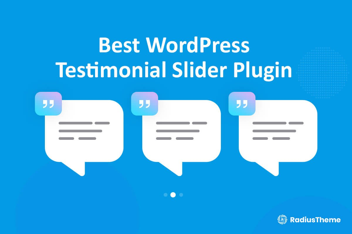 WordPress Testimonial Slider Plugin