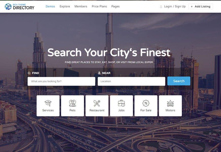 best Directory WordPress theme