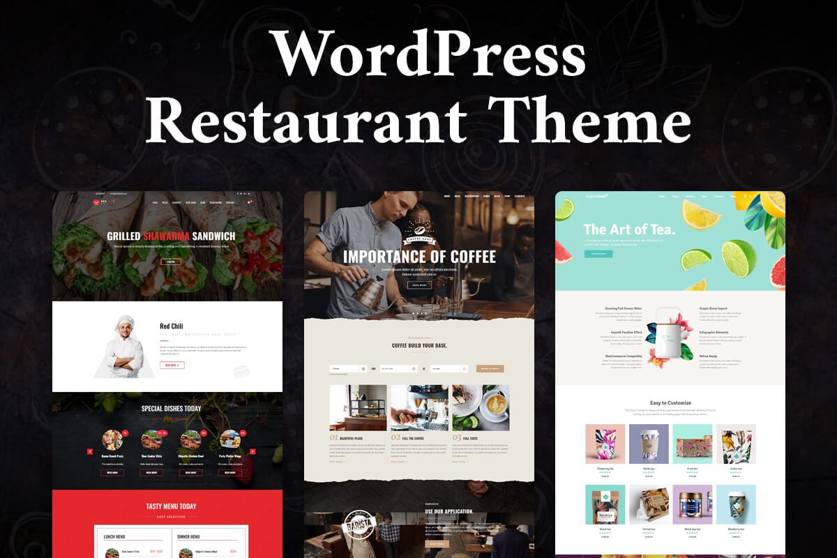 best restaurant WordPress theme