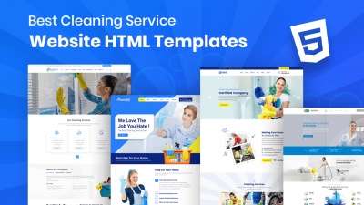 cleaning service website templates