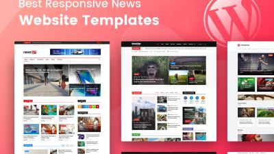 best news website templates