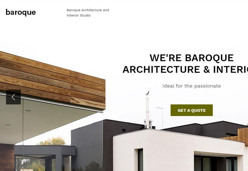 WordPress themes for architecture portfolios