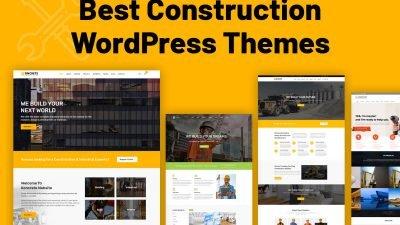 best construction WordPress theme
