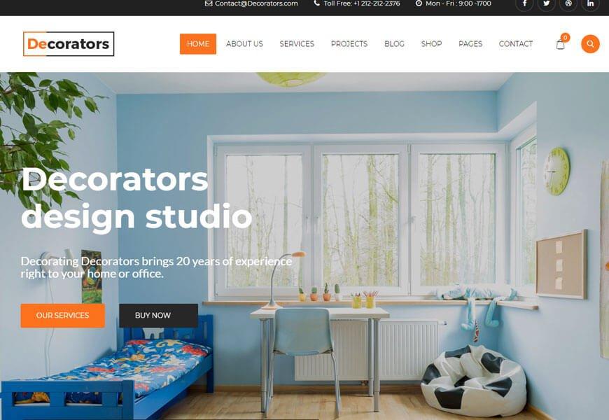 multipurpose architecture design WordPress theme